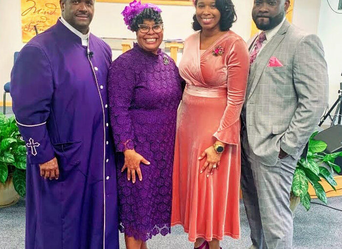 Newly Ordained Minister & Family